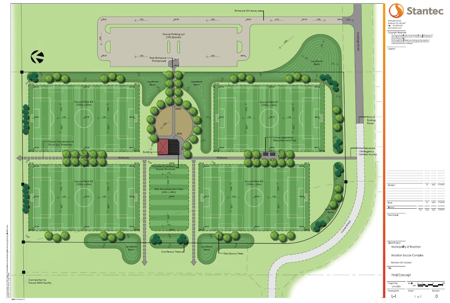 Brockton Soccer Park Drawing