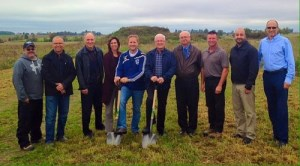 Brockton Soccer Park Sod Turning Ceremony