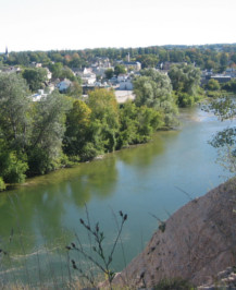 View of Saugeen River