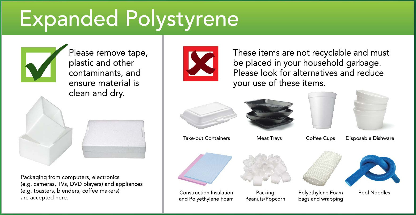 Polystyrene Municipality Of Brockton