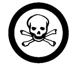 Hazardous Toxic Materials Symbol